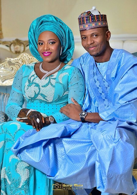 Photography @georgeokoro. WEDDING FABRICS FROM US @nhn_couture .... MAY JOY AND PEACE REIGN IN YOUR HOME! Welldone @hudayya great job!