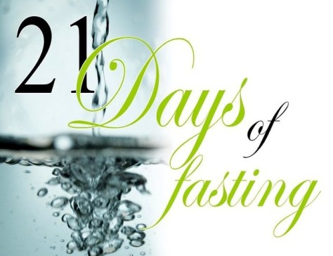 21 Days of Fasting