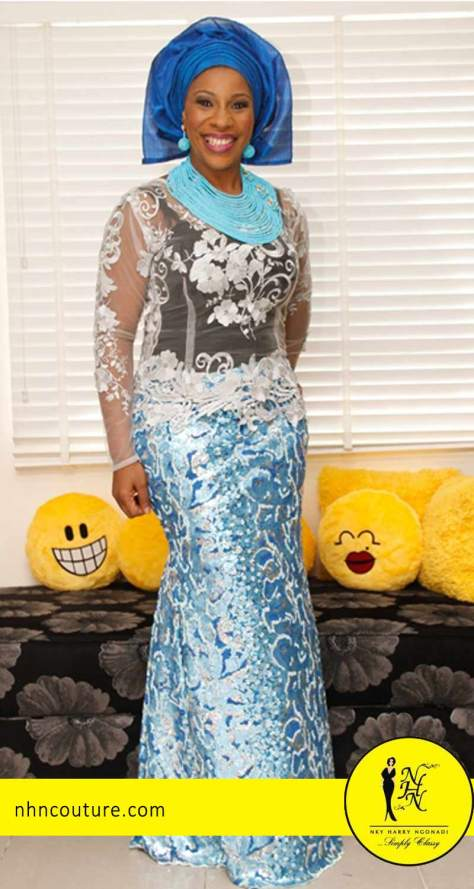 NHN-Couture-glam-up-in-blue-asoebi-1
