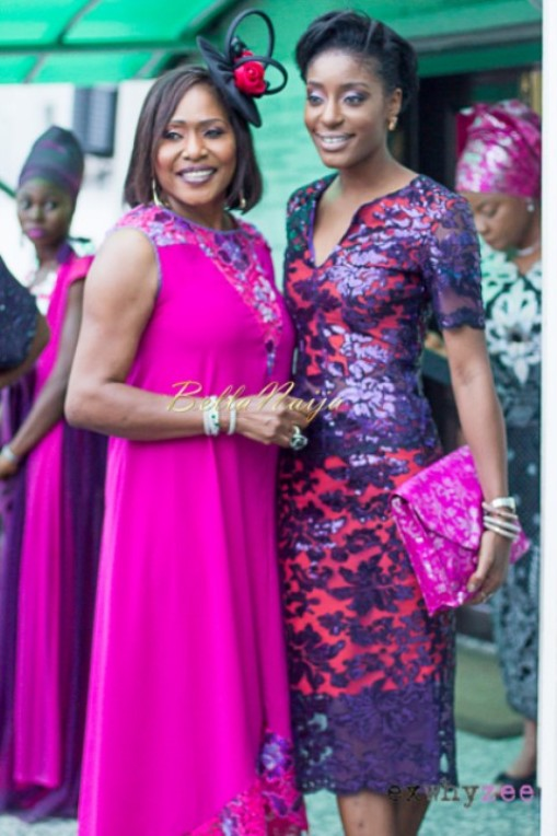 Senator Ita Giwa Daughters Wedding Guests in NHN Couture Asoebi15
