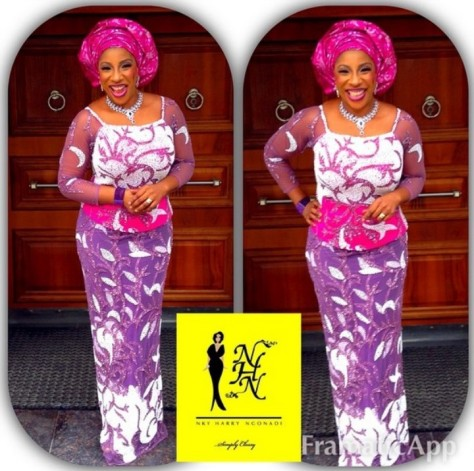 Senator Ita Giwa Daughters Wedding Guests in NHN Couture Asoebi16
