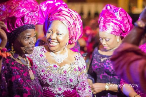 Senator Ita Giwa Daughters Wedding Guests in NHN Couture Asoebi2