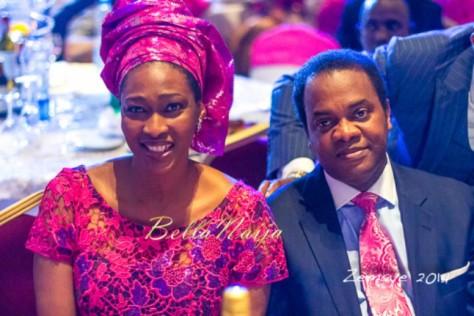 Senator Ita Giwa Daughters Wedding Guests in NHN Couture Asoebi4