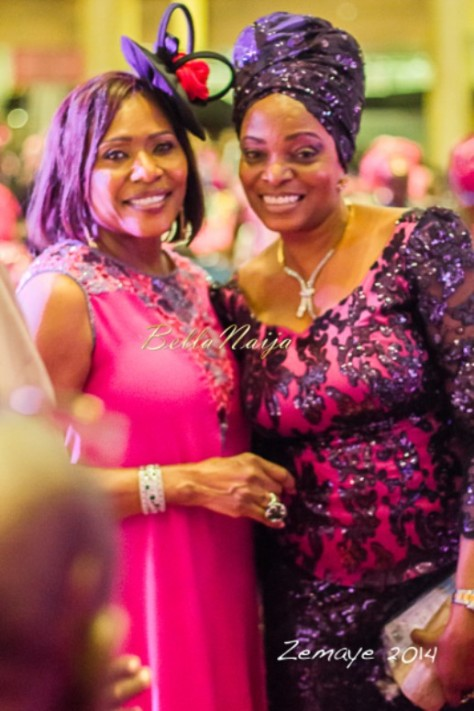 Senator Ita Giwa Daughters Wedding Guests in NHN Couture Asoebi5