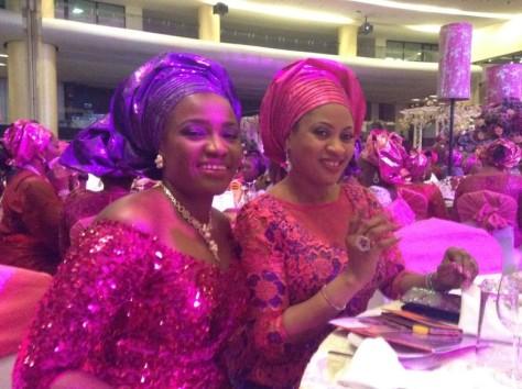 Senator Ita Giwa Daughters Wedding Guests in NHN Couture Asoebi7