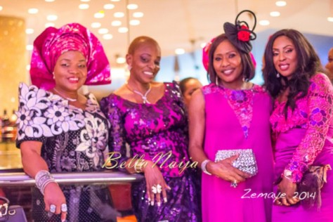 Senator Ita Giwa Daughters Wedding Guests in NHN Couture Asoebi8