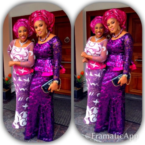 Senator Ita Giwa Daughters Wedding Guests in NHN Couture Asoebi9