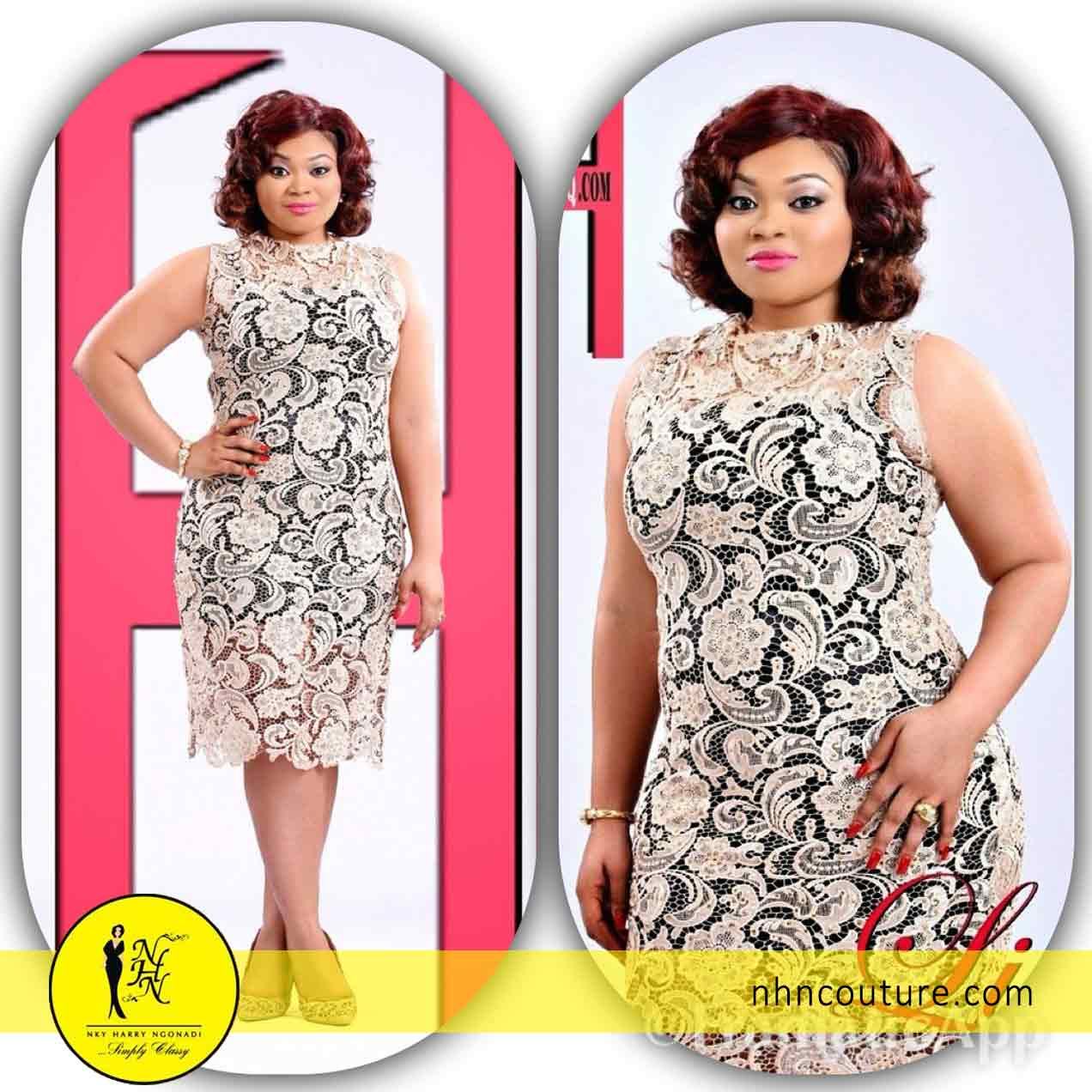 Lisa Henry Omorodion in House of Maliq September 2014 Edition