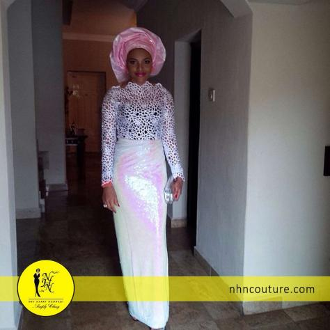 NHN Couture Guipure Lace always a hit!
