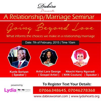Going Beyond Love Seminar