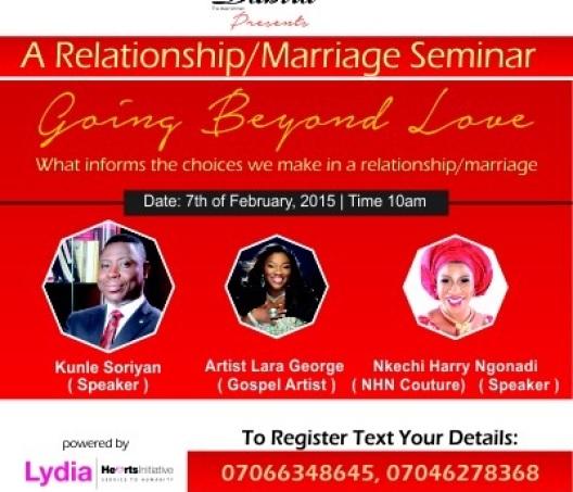 Going Beyond Love Seminar