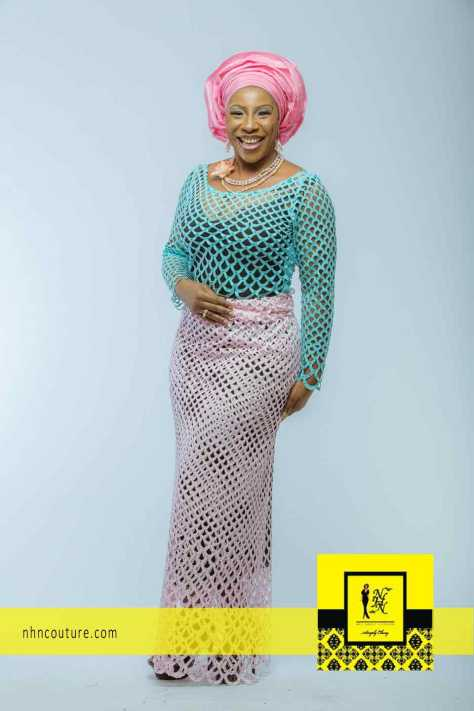 NHN Couture Asoebi Style in Pink and Blue