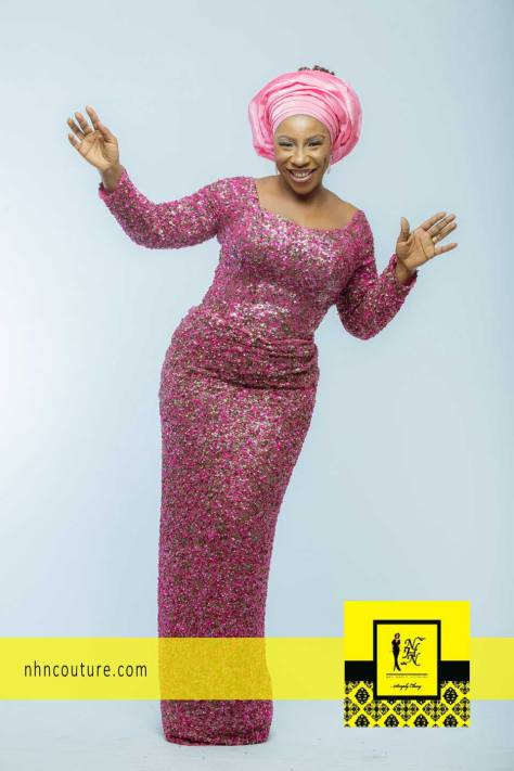 NHN Couture Asoebi Style in Pink
