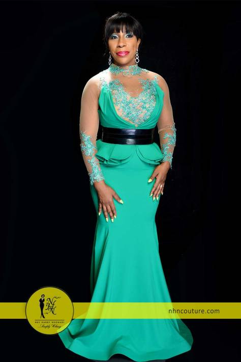NHN-Couture-in-Fouad-Sarkis-Green-Evening-Gown-4