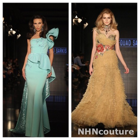 Fouad Sarkis Couture Evening Gowns for NHN Couture-2015-2