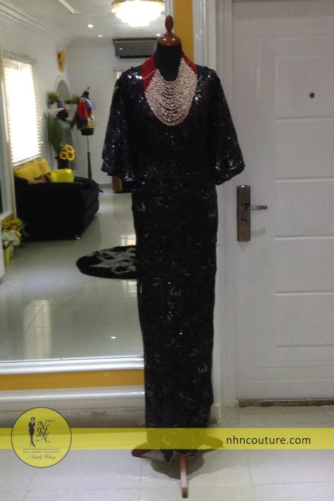 NHN-Ready-to-wear_Asoebi_Nigerian-Traditional-Attire_Black-Asoebi_Lace-and-Ankara_2