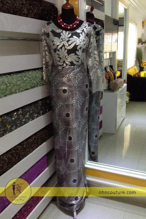 NHN-Ready-to-wear_Asoebi_Nigerian-Traditional-Attire_Silver-Asoebi_Lace-and-Ankara_2