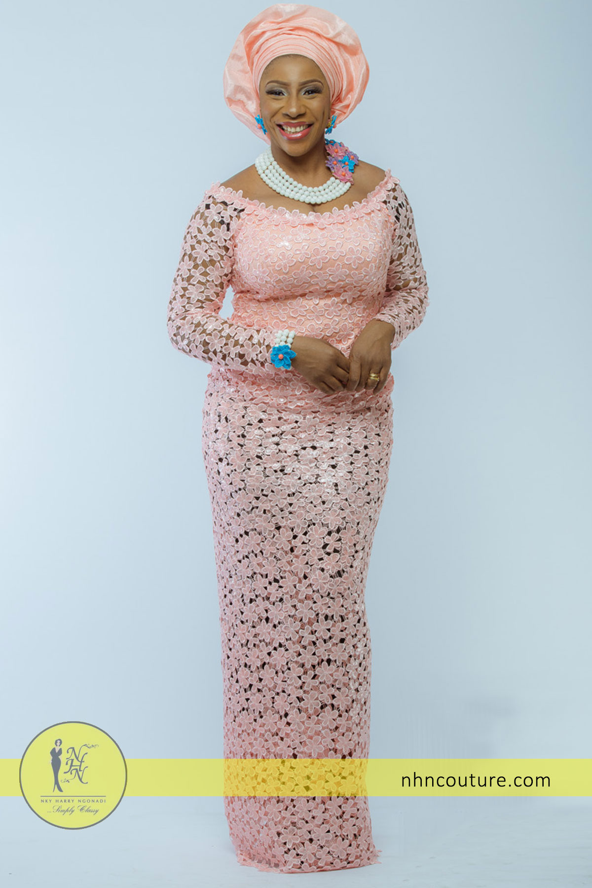 NHN_Asoebi-Style_Peach_Nigerian-Traditional-Attire