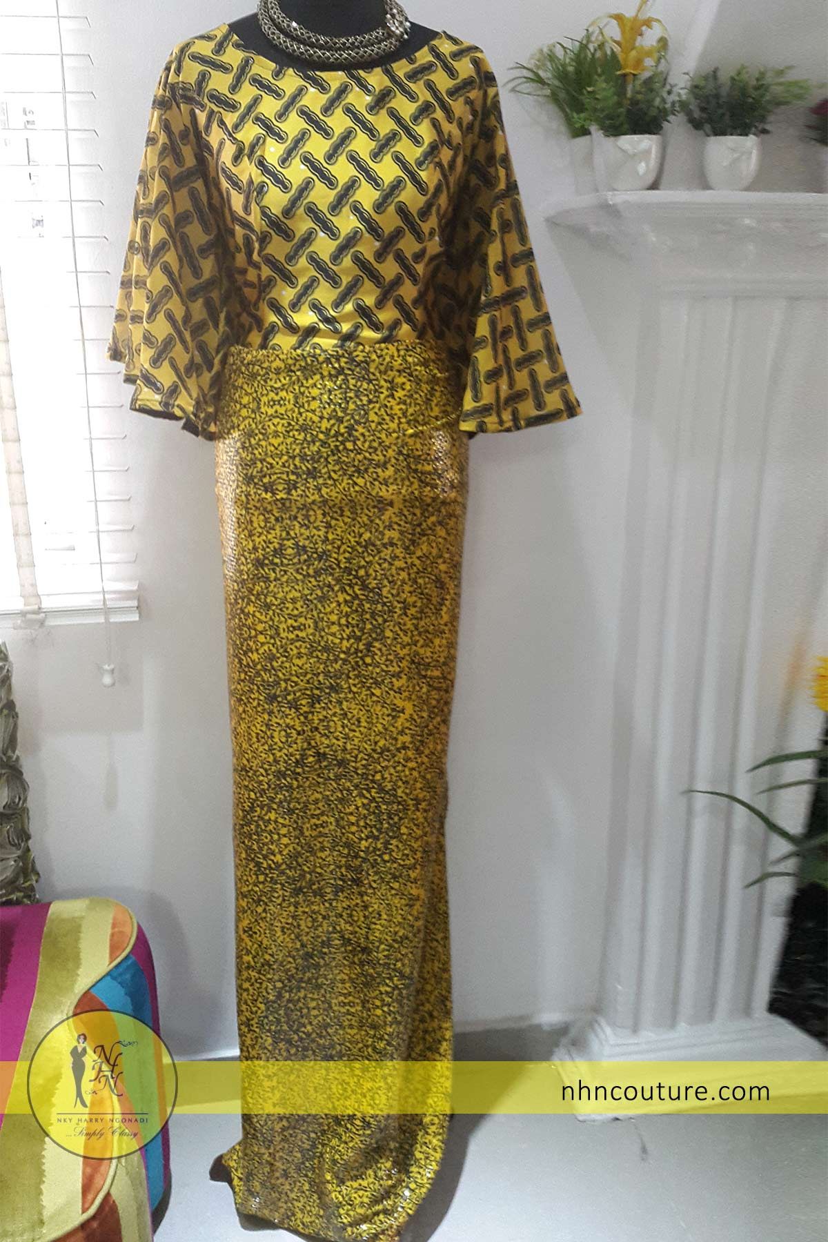 NHN_fitted-iro-and-buba_yellow-pattern-ankara_asoebi