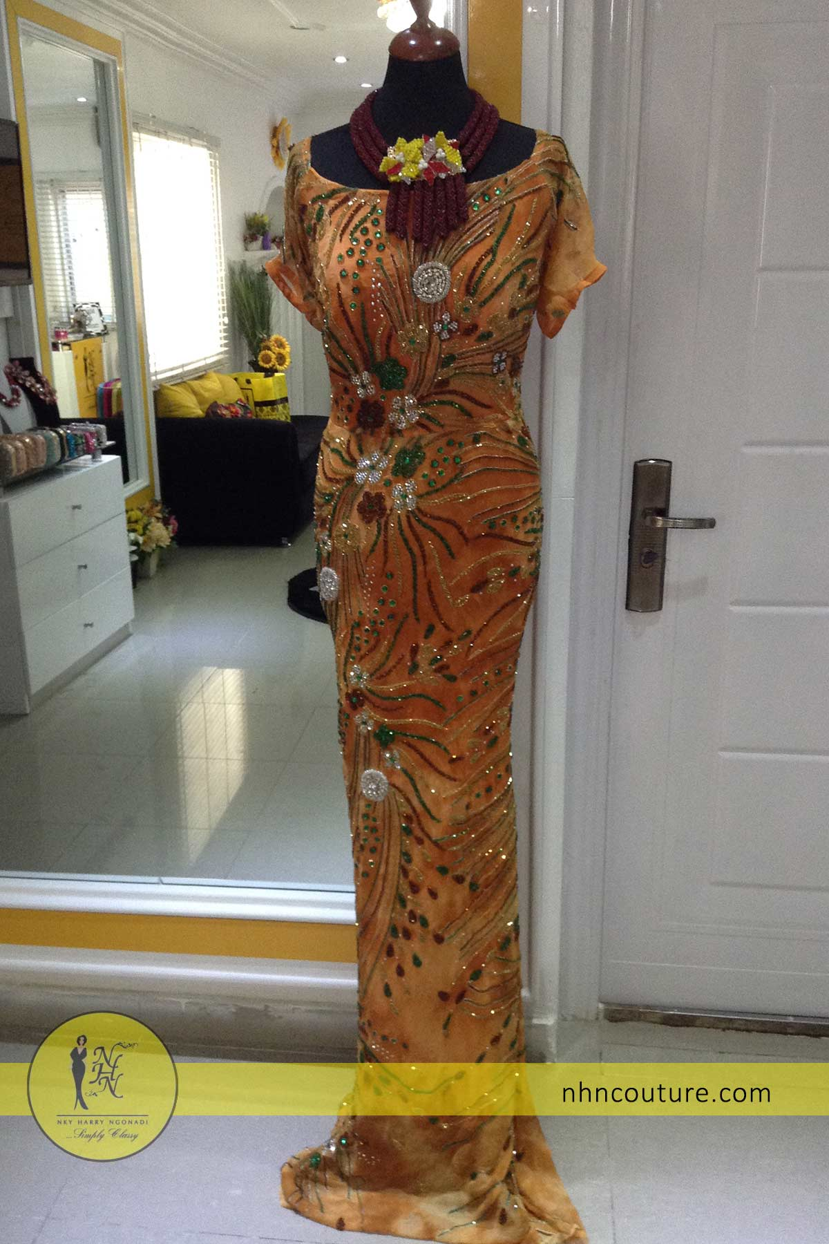 ready-to-wear_asoebi_nigerian-traditional-attire_sequined-orange-lace_NHN