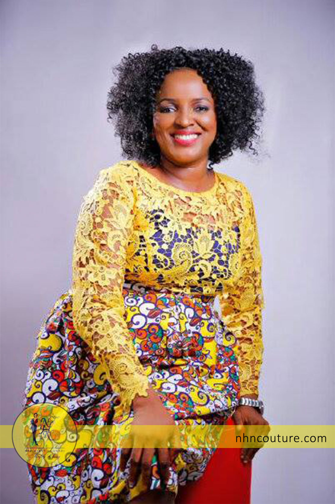 Gozie-Udemezue-in-NHN-Couture_Yellow-Top-and-Print-Skirt-2