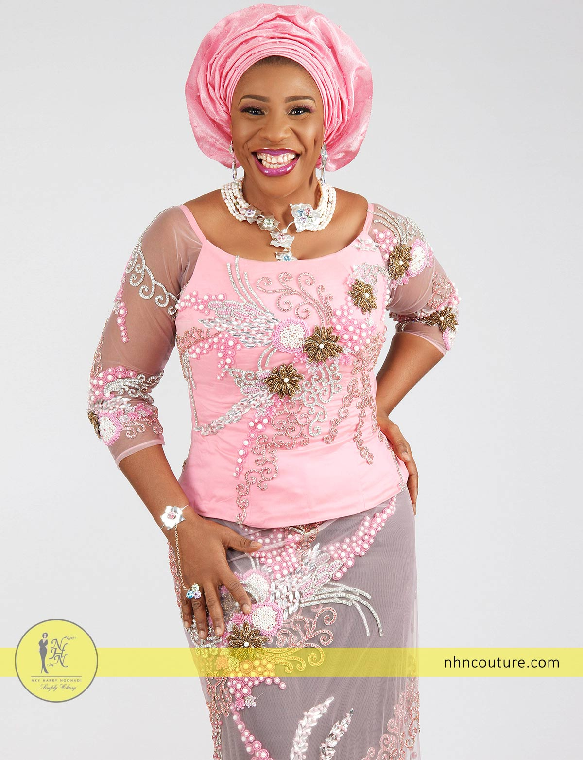 pink-sequined-fitted-top-and-wrapper_Nigerian-traditional-attire_asoebi_NHN-Couture_3