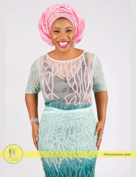 teal-and-pink-sequined-fitted-top-and-wrapper_Nigerian-traditional-attire_asoebi_NHN-Couture_2