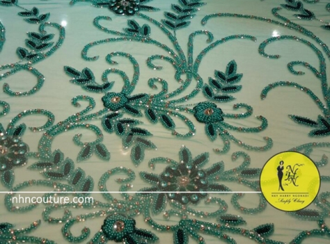 Fabric-Alert_NHN_Asoebi-Fabric_NHN-Couture_Hand-beaded-green-beads-on-green-tulle-fabric