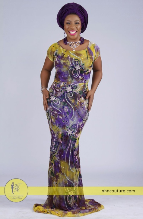 Hand-Beaded-Yellow-and-Purple-Fabric_Purple-Gele_NHN-Couture_Nigerian-Traditional-Attire