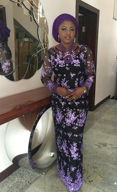 Spotted in NHN couture_purple lace