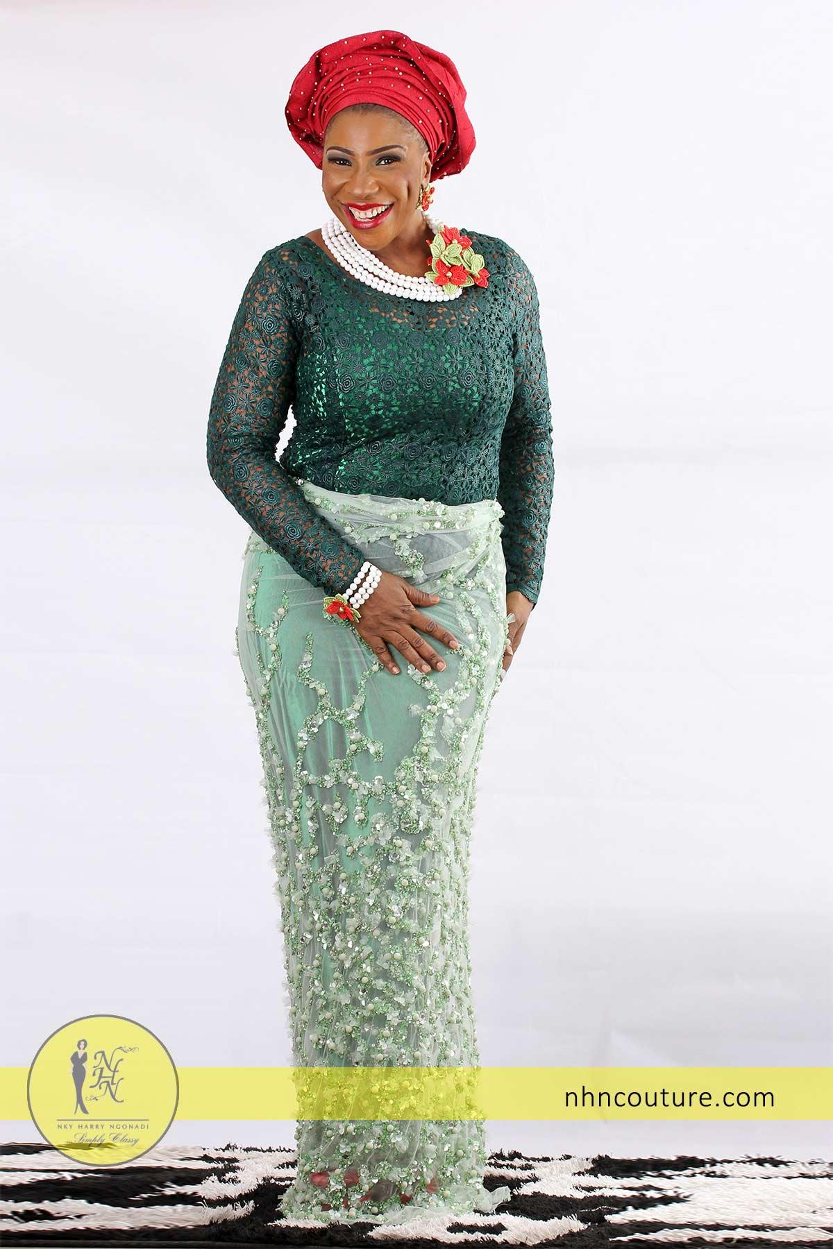 NHN_Green-Asoebi-Inspiration_Nigerian-Traditional-Attire